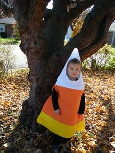 Handmade candy corn costume  sc 1 st  Pinterest & adult candy corn-use and old white tee for the top... | H-a-ll-o-w ...