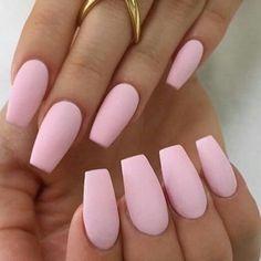 32 Pretty mix and match pink nail art designs - Pink nail #nail
