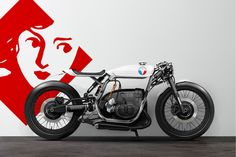 French Studio Barbara Custom Motorcycles creates impressive bike renderings that blur the boundaries between your dream bike and reality. Bmw Cafe Racer, Cafe Racers, Custom Cafe Racer, Cafe Racer Motorcycle, Motorcycle Design, Street Motorcycles, Street Bikes, Custom Motorcycles, Custom Bikes