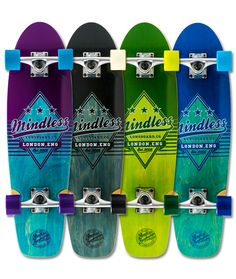 Purple And Black, Blue Green, Black And White, Longboard Cruiser, Skate, Campaign, Medium, Check, Products