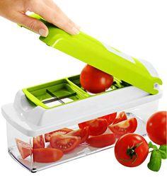 Nicer Dicer Plus cortador fatiador legumes verduras frutas Buy Kitchen, Kitchen Tools, Kitchen Gadgets, Kitchen Supplies, Kitchen Dining, Vegetable Chopper, Vegetable Slicer, Nicer Dicer Plus, Shredder Machine