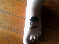 Check my foot