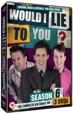Would I lie To You? funny game show where contestants have to guess if the person is lying or not.