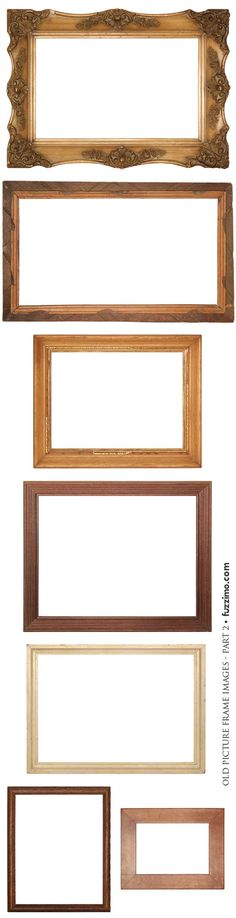 Free Hi Res Old Picture Frames