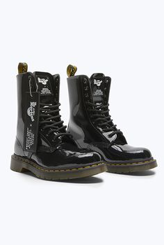 38b55887336 Marc Jacobs   Dr. Martens Look to the Past With Redux Grunge Boot Collab  Patent