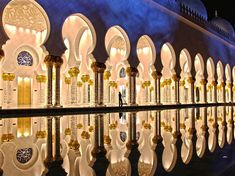 Sheikh Zayed Grand Mosque- an imposing religious and national landmark in Abu Dhabi, United Arab Emirates. Initiated by the late president HH Sheikh Zayed bin Sultan Al Nahyan, the Sheikh Zayed Grand Mosque's architectural design is a blend of Moroccan and traditional Turkish with many global features.