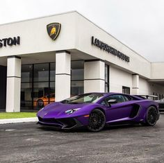 Lamborghini Aventador Super Veloce Coupe painted in Viola Mel  Photo taken by: @lambohouston on Instagram