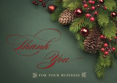 27 best holiday cards for business images on pinterest business business thank you holiday card from my life greetings colourmoves