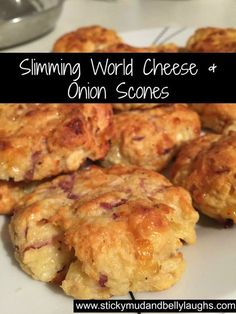 Who said diets had to be boring? Check out these delicious Slimming World Cheese and Onion Scones. Syn free as H/E