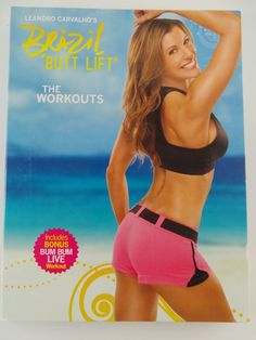 Team beach body Brazil Butt Lift the workout videos 3 cd's Leandro Carvaltto