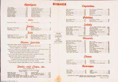 toots shor restaurant nyc - classic nyc menu