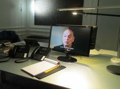 """""""Oficina para vivir"""", proyecto de Jean Nouvel. Isaloni 2013, Milán. (Foto: Elizabeth Palacios/Ointeriores) http://www.obrasweb.mx/milan-2013"""