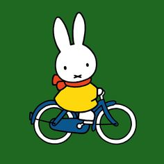 A delightful greeting card with Miffy the rabbit riding her bicycle. The image has been taken from the much loved story books by Dick Bruna. This one ...