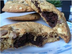 must try cookie + brownie :: Sweet & Salty Brookies