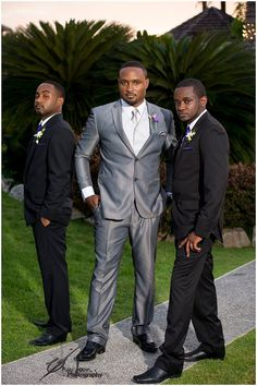 Local (trini) groom and his groomsdudes