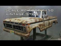 SCALE RC CAR FORD F150 VINTAGE STYLEㅣTEAM ICORT