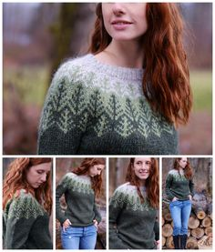Skógafjall Knitting pattern by Dianna Walla Knitting Socks, Knitting Stitches, Love Knitting Patterns, Knit Picks, Sweater Design, Casual Chic Style, Crochet Clothes, Knit Crochet, Sweaters