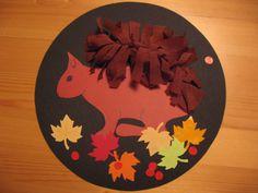Thema Herfst, Eekhoorn 2, 3+