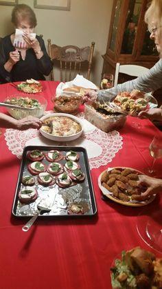 Italian dinner with my friends