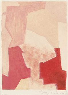 Serge Poliakoff - Composition in Pink, from:...