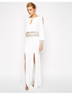 Forever Unique Mel Maxi Dress With Embellished Waist And Cuffs http://www.allsales.pl/wyprzedaz/forever-unique-forever-unique-mel-maxi-dress-with-embellished-waist-and-cuffs-293708.html #sukienki #wyprzedaże #allsales.pl