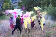 color fight!