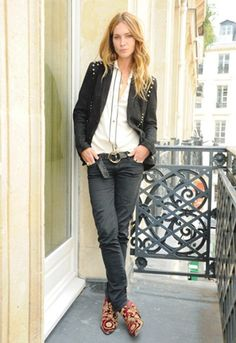 ERIN WASSON FOR ZADIG AND VOLTAIRE