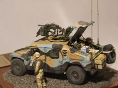 """M1114 UAH """"Devils In Baggy Pants"""" - Bronco and Accessories - 1:35"""