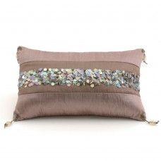 Class R2 - Silver Velvet Rectangular Pillow | DesignPass.com