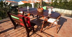 About the Guest House Ericeira Guest House Outdoor Furniture, Outdoor Decor, Portugal, Restaurant, Traditional, Table, House, Home Decor, Decoration Home