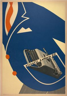 Olivetti - Lettera 22 - Egidio Bonfante, 1953