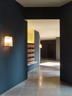 Since 1998 the Web Atlas of Contemporary Architecture Contemporary Architecture, Interior Architecture, Interior Design, House Entrance, Entrance Hall, Terrazzo, Mail Room, Elevator Design, Lobby Interior