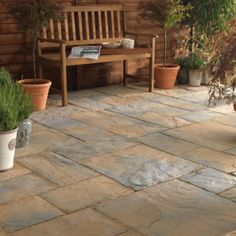 Bradstone Ancestry Paving has been moulded from original natural stone masters to capture all the period charm and authenticity of yesteryear. Ancestry is available as paving, walling and edging and comes in three shades. Concrete Paving, Patio Slabs, Ancestry, Authenticity, Natural Stones, Masters, Period, Garden Ideas, Shades