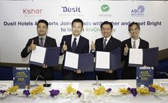 Dusit Hotels to accept WeChat Pay.  WeChat Pay is part of China's largest mobile instant messaging app, WeChat, which to date has over 800 million active users. It allows users to pay bills, order goods, transfer money to other users, and pay in selected stores directly via smartphone using credit from their personal WeChat Pay accounts.