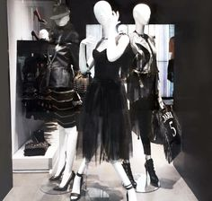 Dark & rock in Milan! Check out some of the beautiful dresses of the FW16 collection in our store in Corso Como 9, Milano