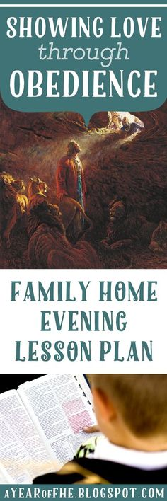 A Year of FHE: Family Home Evening: Showing Love through Obedience