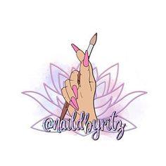 Logotipo de uñas logotipo de dibujos animados logotipo de | Etsy Nail Logo, Cartoon Logo, Hand Drawn Logo, Elegant Logo, Beauty Logo, Manicure, Nails, Nail Technician, Beauty Industry