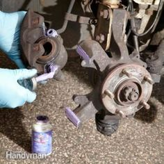 DIY Brake Tips – Article: The Family Handyman Auto Maintanance Truck Repair, Brake Repair, Engine Repair, Vehicle Repair, Auto Engine, Brake Pad Replacement, Car Fix, Car Restoration, Diesel