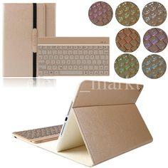 iPad Air 2 Leder Hülle beleuchtet Bluetooth Tastatur Case Smart Cover Qwertz in Computer, Tablets & Netzwerk, Tablet & eBook Zubehör, Taschen & Hüllen | eBay!