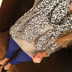 Leopard for #stylecollective scarf for #hauteinOctober and sleeves for #wearwhatwhereoctober Have a great day friends! #ootd