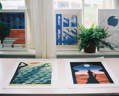 Minimalist, Kids Rugs, Contemporary, Studio, Illustration, Prints, Design, Home Decor, Art
