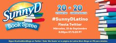 SunnyDLatino Book Spree Twitter Party 9/10