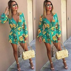 www.Petalsfashionz.com Quick shipping low prices women's rompers & jumpsuits style floral print women short jumpsuit romper Deep v neck strap playsuits overalls Model Number: strap playsuits Material: Cotton,Polyester Style: Sexy Decoration: None Fabric Type: Chiffon Fit Type: Regular Pattern Type: Print Type: Playsuits Item Type: Jumpsuits & Rompers Gender: Women