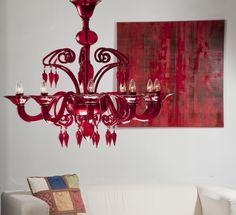 Dolfin Red  #yourmurano #muranoglass #chandeliers