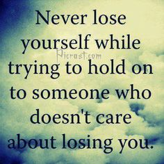 Never lose urself...