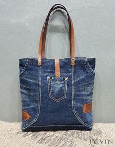 Шьем сумки Легко и Просто - МК - Выкройки Sacs Tote Bags, Denim Tote Bags, Blue Jean Purses, Recycled Denim, Fabric Bags, Quilted Bag, Handmade Bags, Fashion Bags, Sewing
