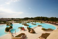 Die Poolanlage gehört mit 6 Pools zu einer der größten in Süditalien.