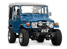 Toyota Land Cruiser FJ10 1982 Medium Blue