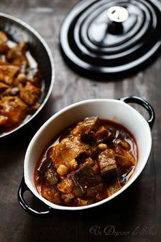 Koresh (Auberginenauflauf) - Ein Mittagessen in der Sonne - Famous Last Words Sicilian Recipes, Greek Recipes, Meat Recipes, Fall Recipes, Asian Recipes, Healthy Recipes, Middle East Food, Tasty, Yummy Food
