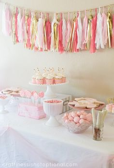 Pink and Gold Ballet Bash - this is perfection! Next year is my golden birthday, maybe I could do a Golden Birthday Ballet Bash!